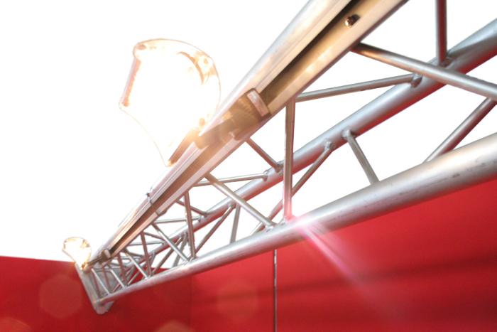 نورپردازی در غرفه نمایشگاه - هالوژن